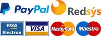 Logos paypal visa mastercard maestro redsys footer